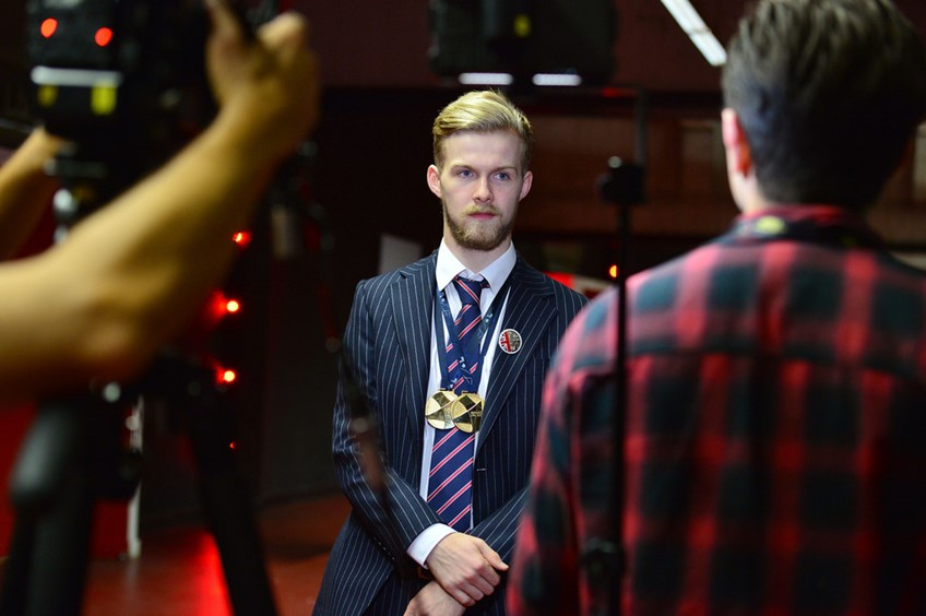 New College Lanarkshire News Skills Champions Chosen