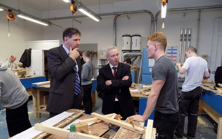New College Lanarkshire News Winners Named In Joinery