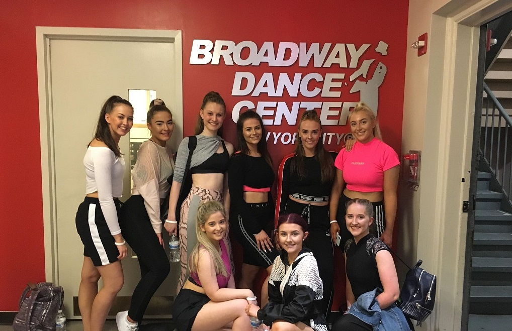 New College Lanarkshire students train at Broadway Dance Center in New York.jpg (1)