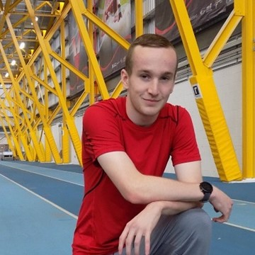 NCL student Alexander Thomson is a rising star in athletics.JPG